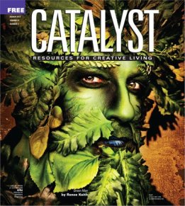 Green Man on Catalyst Cover!