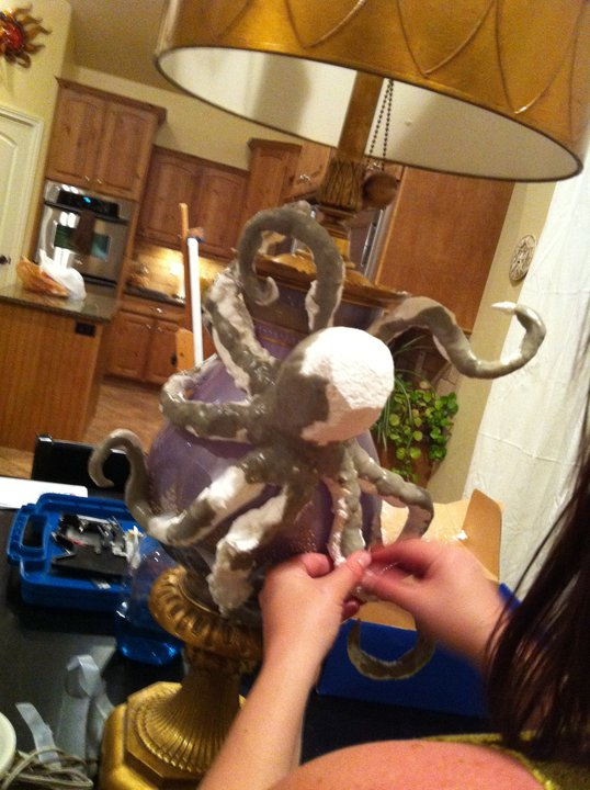 Octopus Lamp Stage 2