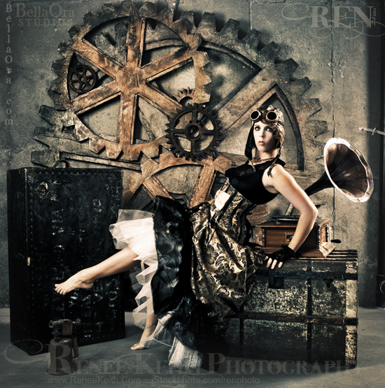 Photography by Renee Keith ~ Steampunk
