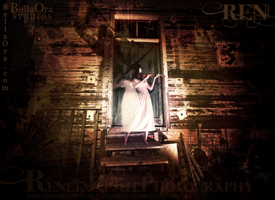 Ghosted Photography by Renee Keith