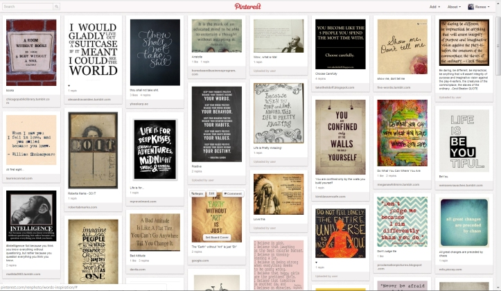 Quote Gallery on Pinterest