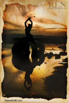 Reflection Limited Edition Tarot Card by Renee Keith