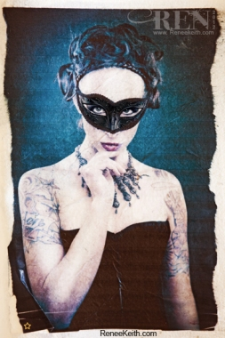 Mask Limited Edition Tarot Card by Renee Keith