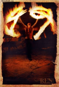 Fire ~ Tarot Card by Renee Keith