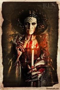 Bloody Mary ~ Tarot Card by Renee Keith