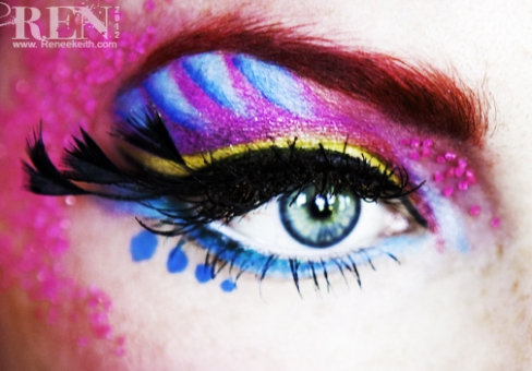Creative Beauty makeup by Renee Keith