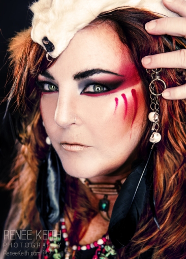 Shaman Makeup ~ by Renee Keith