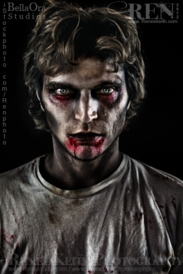 Zombie ~ Makeup and Photography by Renee Keith