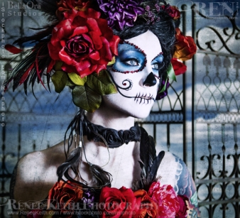 Sugar Skull ~ Makeup and Photography by Renee Keith