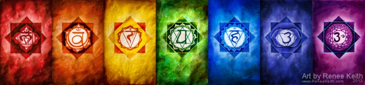 Chakra Cards - Oracle Tarot by Renee Ketih