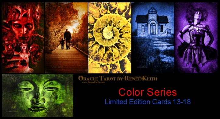 Color Series Limited Edition Cards ~ Oracle Tarot by Renee Keith