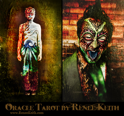 In Memory of Russ Lyman - Limited Edition Cards ~ Oracle Tarot by Renee Keith