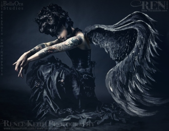 Makeup and Photography by Renee Kieth ~ Dark Angel