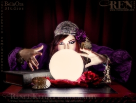 Gypsy Fortune Teller ~ Photography by Renee Keith