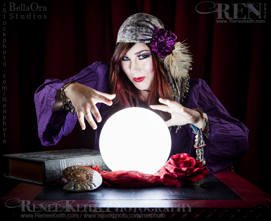 Gypsy Fortune Teller - Photography by Renee Keith