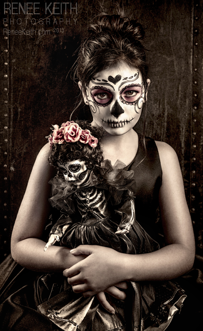 Sugar Skull - Makeup & Photography by Renee Keith - 2013