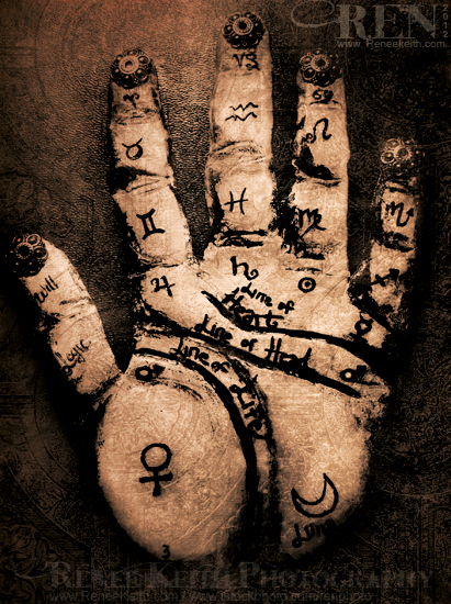 Palmistry Art by Renee Keith