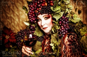 Wine Goddess ~ Photography by Renee Keith