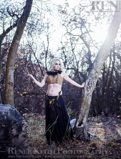 Dancer in the Woods - Photography by Renee Keith