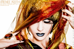 G O L D ~ Photography by Renee Keith. Hair, Makeup and Model: Chaunsey Hildebrandt