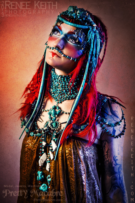 Tribal Goddess - Makeup and Photography by Renee Keith