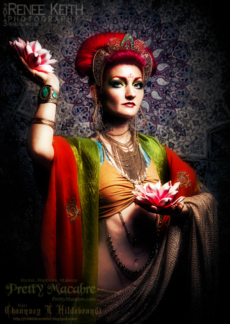 Buddhist Goddess Tara ~ Photography by Renee Keith