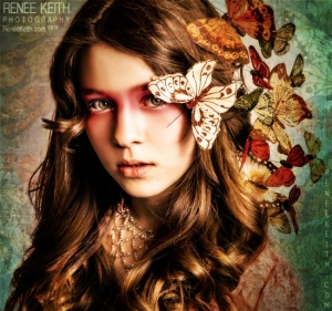 Butterfly Girl ~ Photography by Renee Keith
