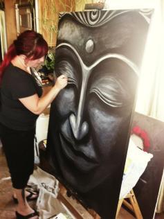 Buddha #12 - Artwork by Renee Keith