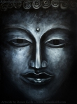 Buddha Painting by Renee Keith ~ 30x40 acrylic on canvas