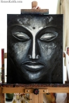 Buddha Face Series~ Artwork by Renee Keith
