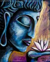 Buddha #9 - Artwork by Renee Keith