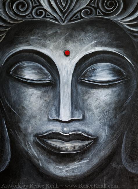 Buddha #1 - Artwork by Renee Keith