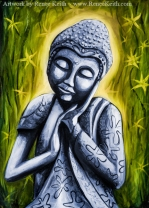 Buddha #8 - Artwork by Renee Keith