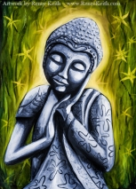 Buddha #8 - Artwork by Renee Keith