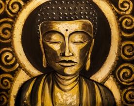 Buddha #11 - Artwork by Renee Keith