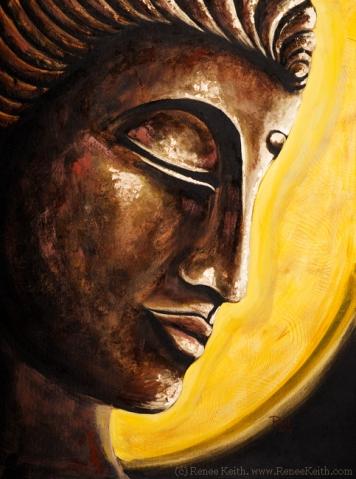 Buddha #7 - Artwork by Renee Keith