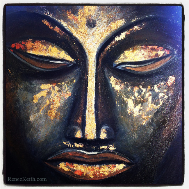 Buddha Face Series ~ Artwork by Renee Keith