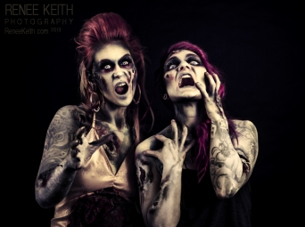 Zombie Photo shoot by Renee Keith