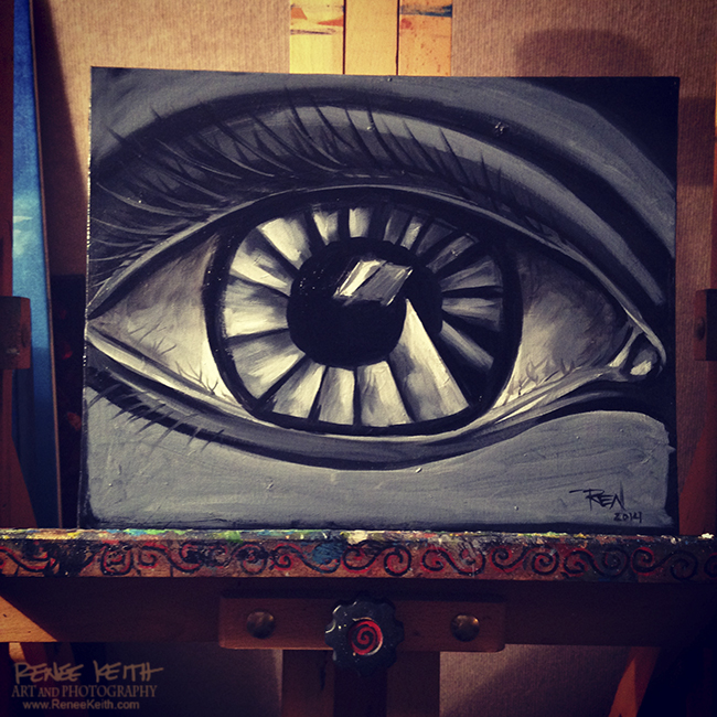Eye ~ Art by Renee Keith