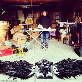 Plastic Art Wing Project