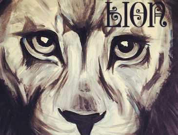 Lion Art by Renee Keith