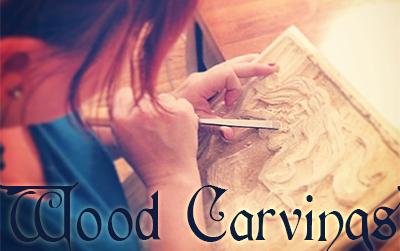 Renee Keith Wood Carving