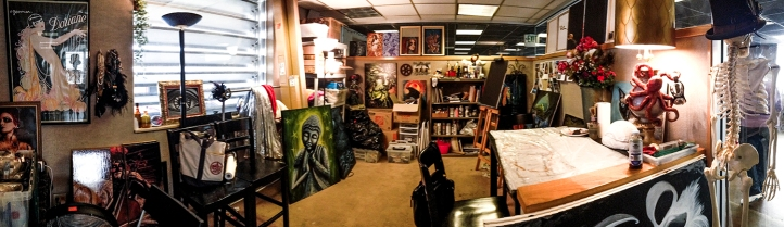 Updated image of my art space 2014